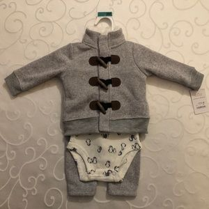 NWT Boys Just One You by Carter's 3 Pc Set